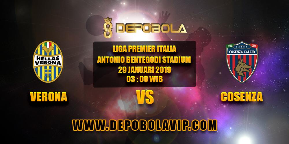 Prediksi Bola Verona vs Cosenza 29 Januari 2019