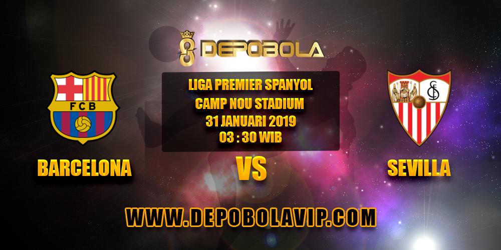 Prediksi Bola Barcelona vs Sevilla 31 Januari 2019