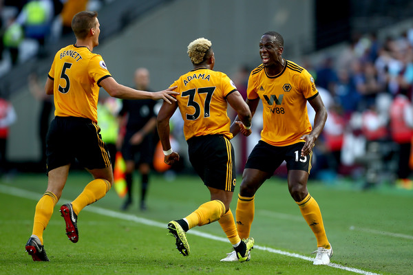 Wolverhampton goal