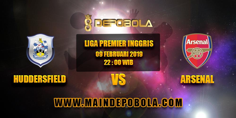 Prediksi Bola Huddersfield vs Arsenal 09 Februari 2019