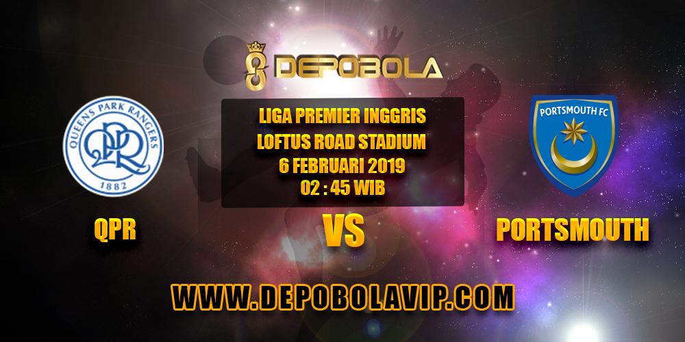 Prediksi Bola QPR vs Portsmouth 06 Februari 2019