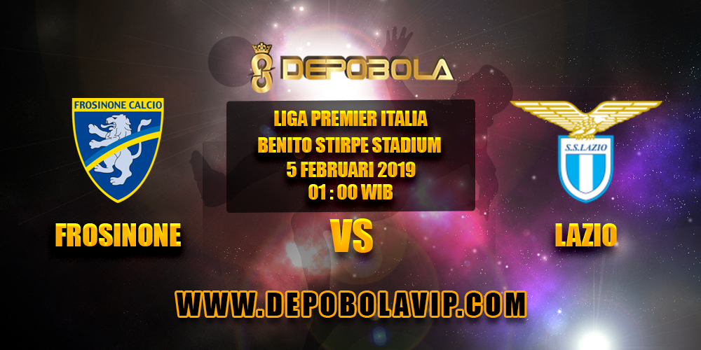 Prediksi Bola Frosinone vs Lazio 05 Februari 2019