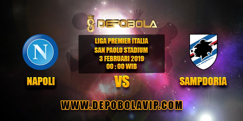Prediksi Bola Napoli vs Sampdoria 03 Februari 2019