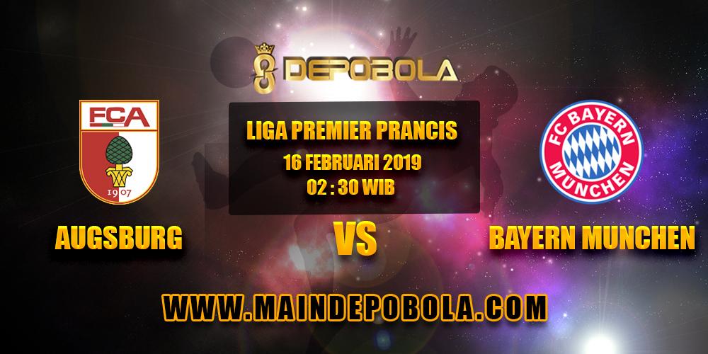 Prediksi Bola Augsburg vs Bayern Munchen 16 Februari 2019