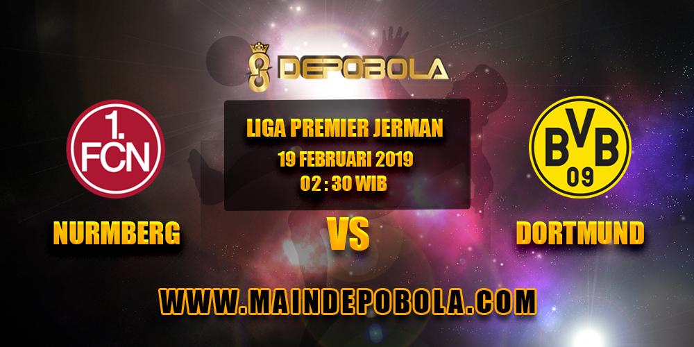 Prediksi Bola FC Numberg vs Borussia Dortmund 19 Februari 2019