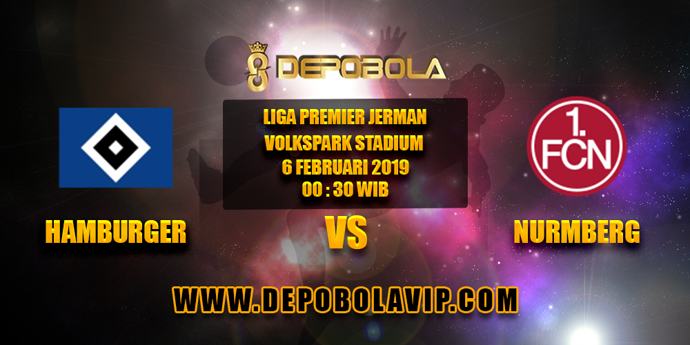 Prediksi Bola Hamburger SV vs Nurmberg 06 Februari 2019