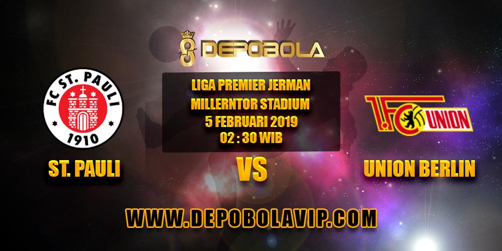 Prediksi Bola St. Pauli vs Union Berlin 05 Februari 2019