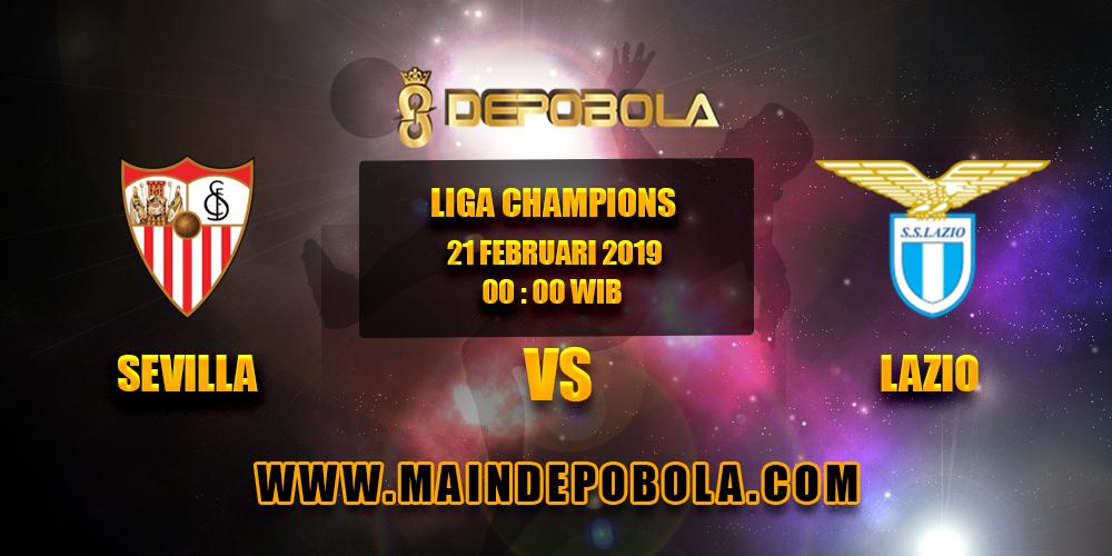 Prediksi Bola Sevilla vs Lazio 21 Februari 2019