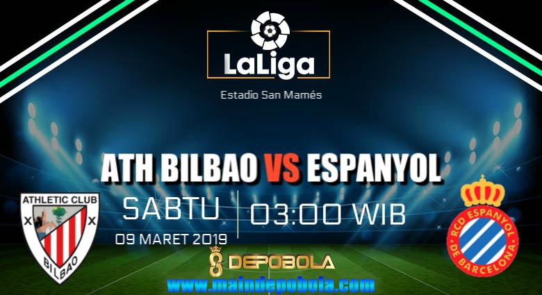 Prediksi Bola Athletic Bilbao vs RCD Espanyol 9 Maret 2019