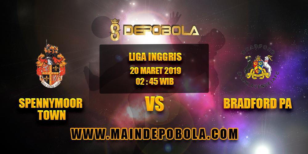 Prediksi Bola Spennymoor Town vs Bradford PA 20 Maret 2019