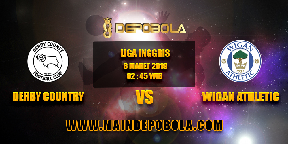 Prediksi Bola Derby Country vs Wigan Athletic 6 Maret 2019