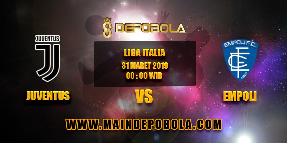 Prediksi Bola Juventus vs Empoli 31 Maret 2019