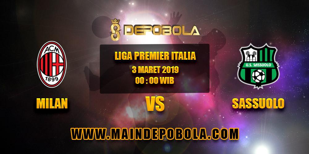 Prediksi Bola Milan vs Sassuolo 3 Maret 2019