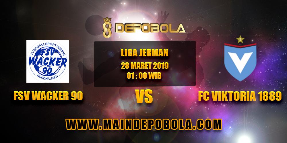 Prediksi Bola FSV Wacker 90 vs FC Viktoria 1889 28 Maret 2019