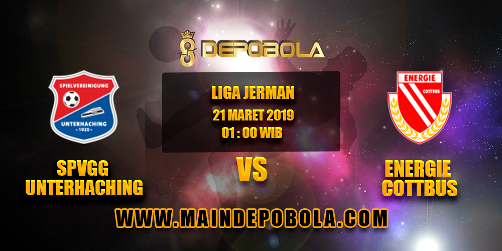 Prediksi Bola SpVgg Unterhaching vs Energie Cottbus 21 Maret 2019