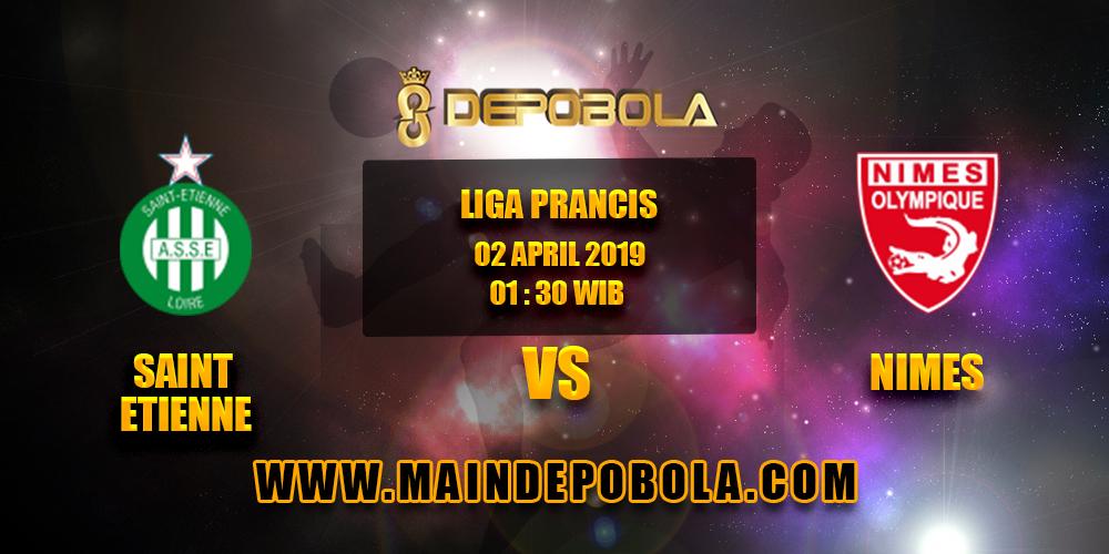 Prediksi Bola Saint Etienne vs Nimes 2 April 2019