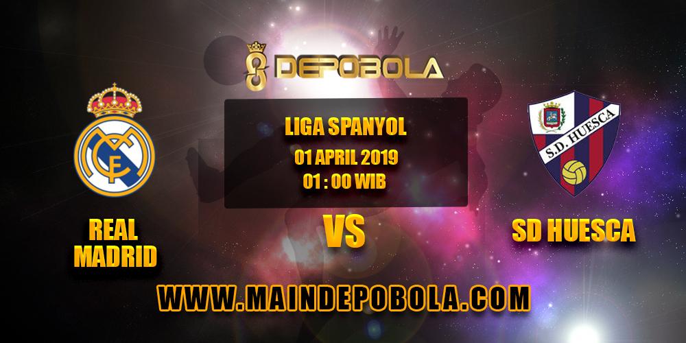 Prediksi Bola Real Madrid vs SD Huesca 1 April 2019