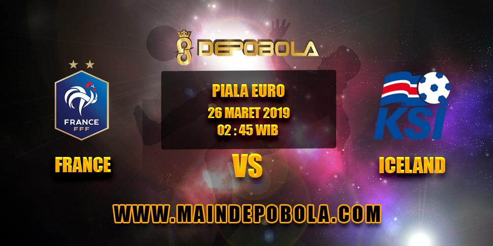Prediksi Bola France vs Iceland 26 Maret 2019
