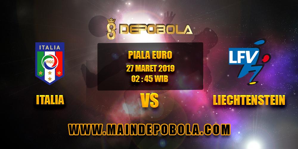 Prediksi Bola Italia vs Liechtenstein 27 Maret 2019