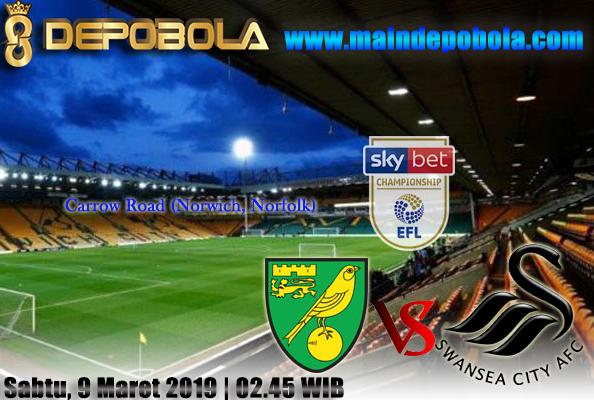 Prediksi Bola Norwich City vs Swansea City 9 Maret 2019