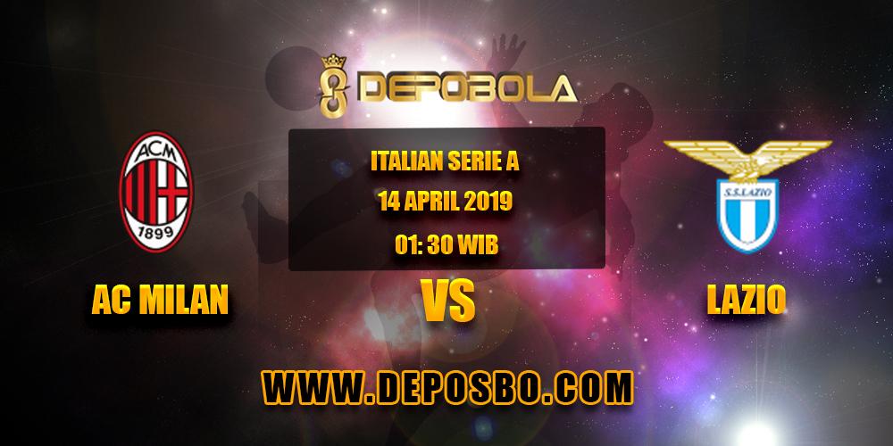 Prediksi Bola AC Milan vs Lazio 14 April 2019