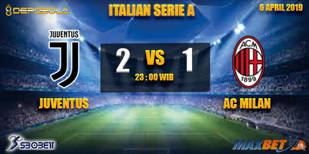 Prediksi Bola Juventus vs AC Milan 6 April 2019