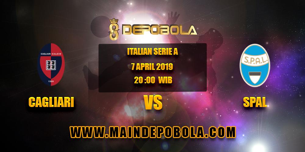 Prediksi Bola Cagliari vs Spal 7 April 2019