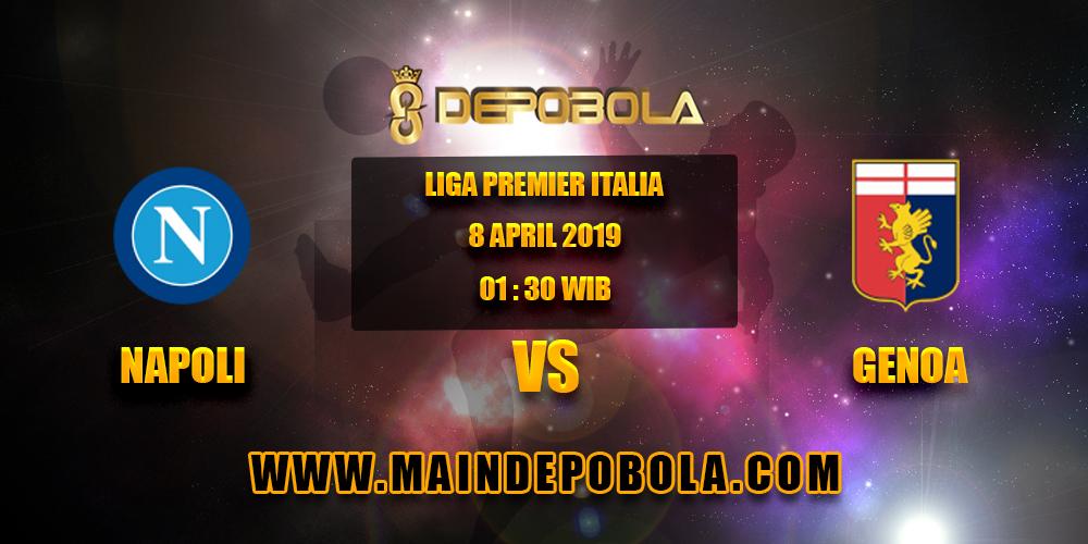 Prediksi Bola Napoli vs Genoa 8 April 2019
