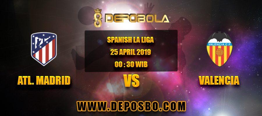 Prediksi Bola Atletico Madrid vs Valencia 25 April 2019