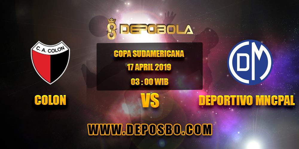 Prediksi Bola Colon vs Depotivo Municipal 17 April 2019