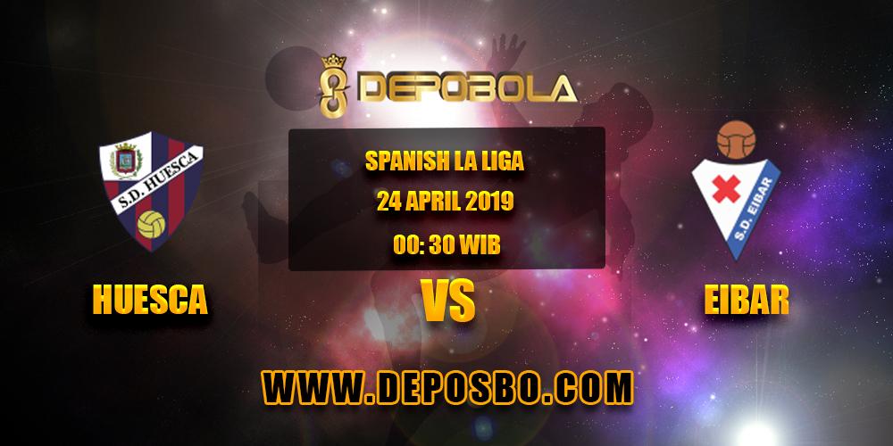 Prediksi Bola Huesca vs Eibar 24 April 2019