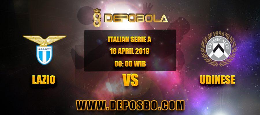 Prediksi Bola Lazio vs Udinese 18 April 2019