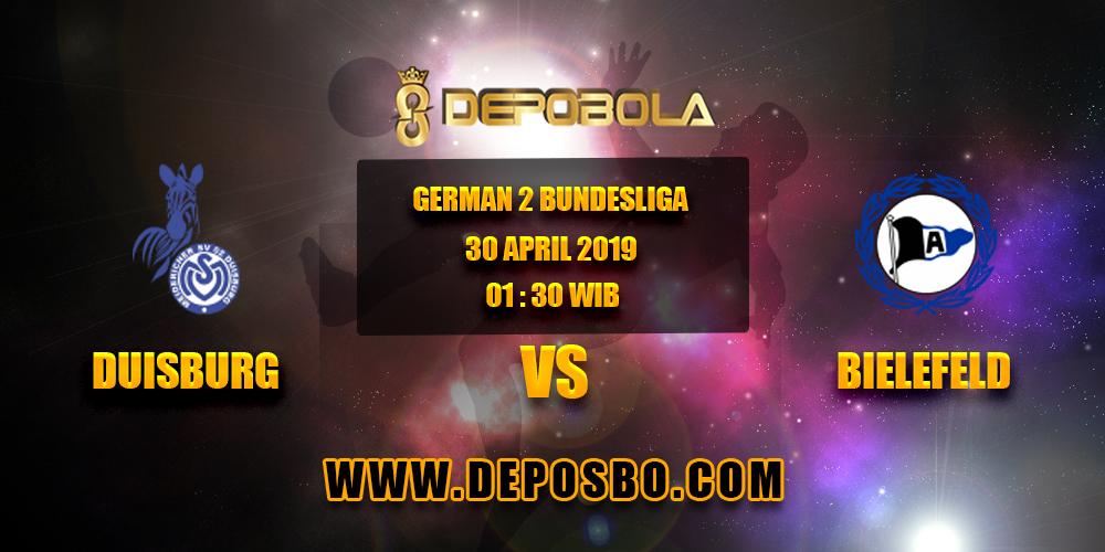 Prediksi Bola MVS Duisburg vs Arminia 30 April 2019
