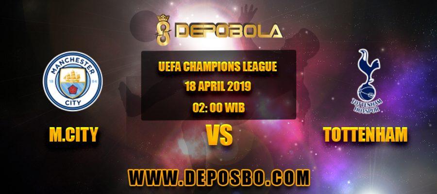 Prediksi Bola Manchester City vs Totttenham 18 April 2019