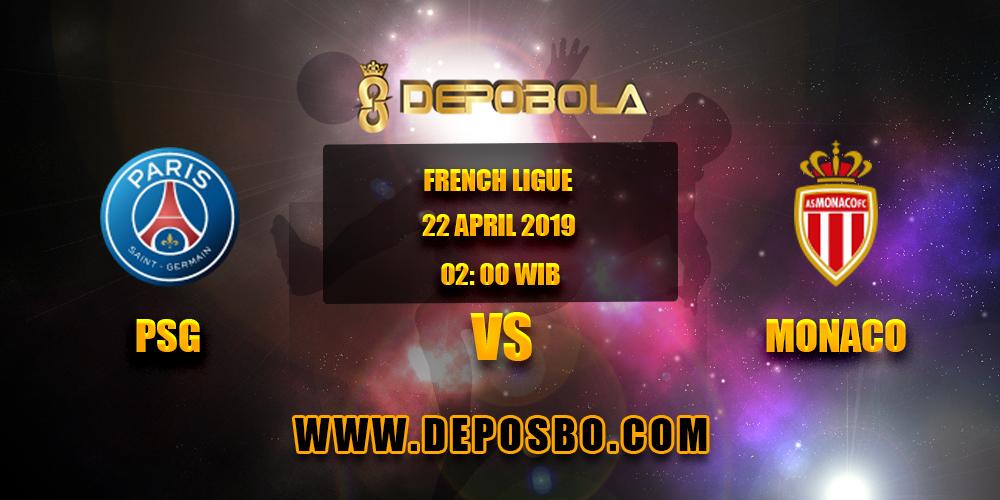 Prediksi Bola PSG vs Monaco 22 April 2019
