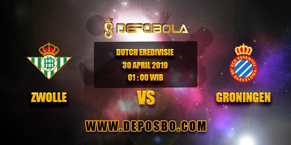 Prediksi Bola Zwolle vs Groningen 30 April 2019
