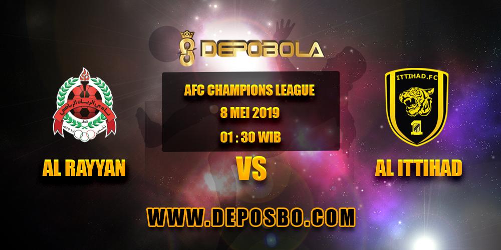 Prediksi Bola Al Rayyan vs Al Ittihad 8 Mei 2019