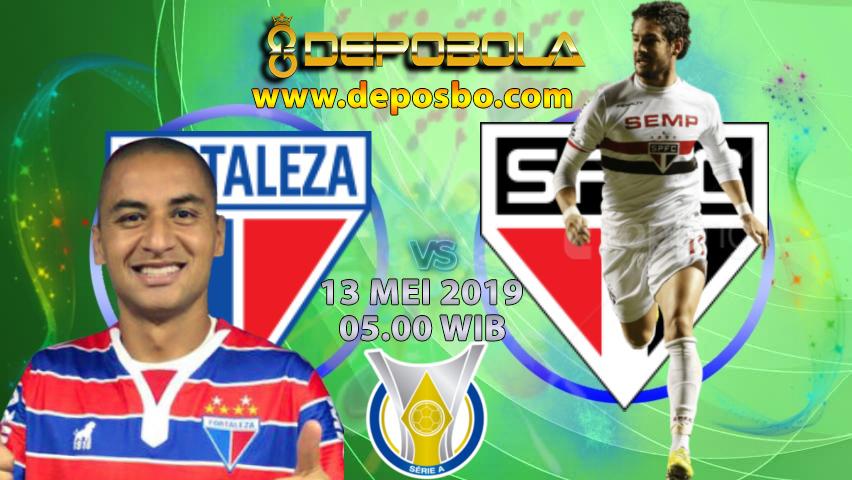 Prediksi Bola Fortaleza vs Sao Paulo 13 Mei 2019