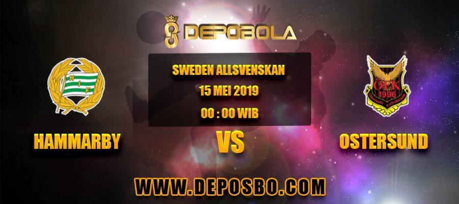 Prediksi Bola Hammarby vs Ostersund 15 April 2019
