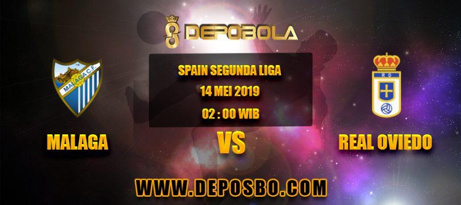Prediksi Bola Malaga vs Real Oviedo 14 Mei 2019