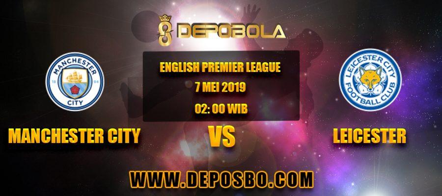 Prediksi Bola Manchester City vs Leicester 7 April 2019