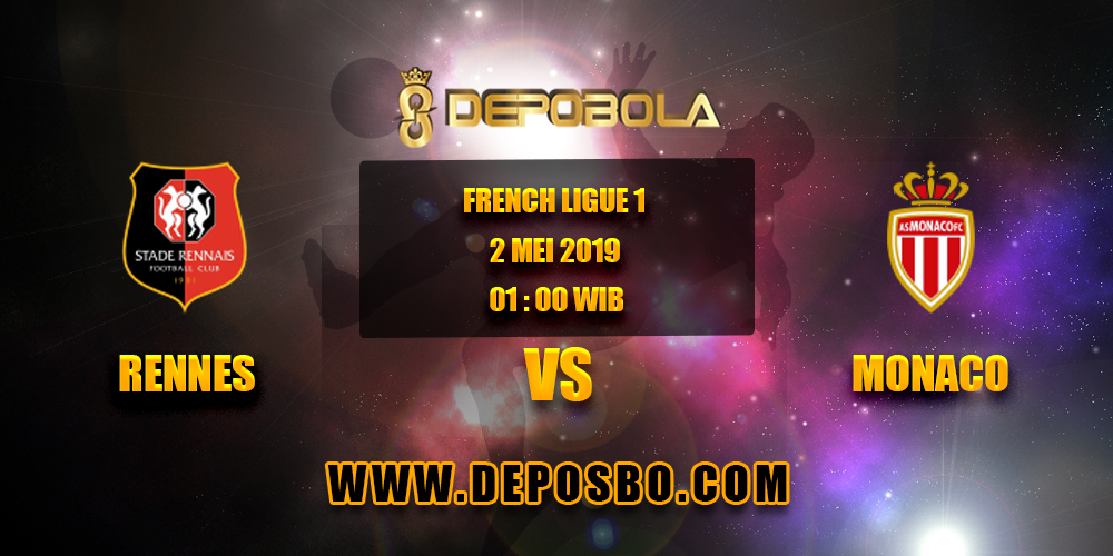 Prediksi Bola Rennes VS Monaco 2 Mei 2019