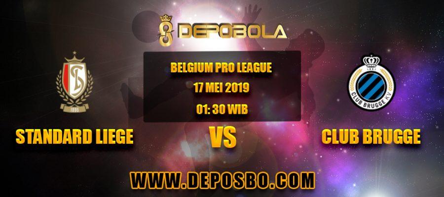 Prediksi Bola Standard Liege vs Club Brugge 17 Mei 2019