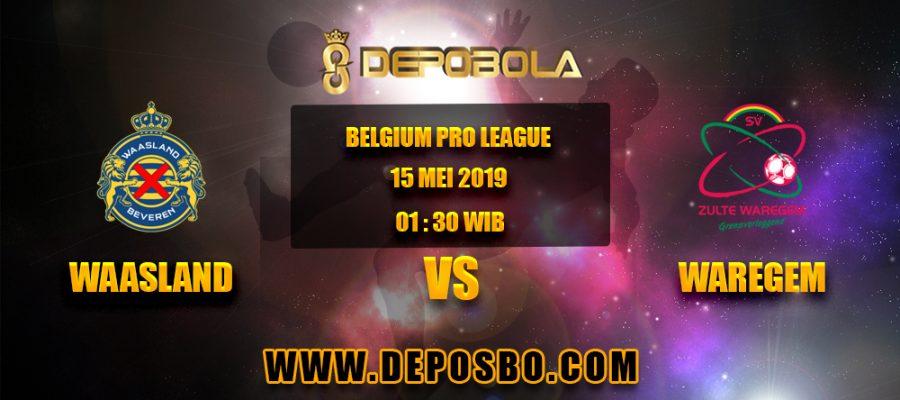 Prediksi Bola Waasland vs Waregem 15 April 2019